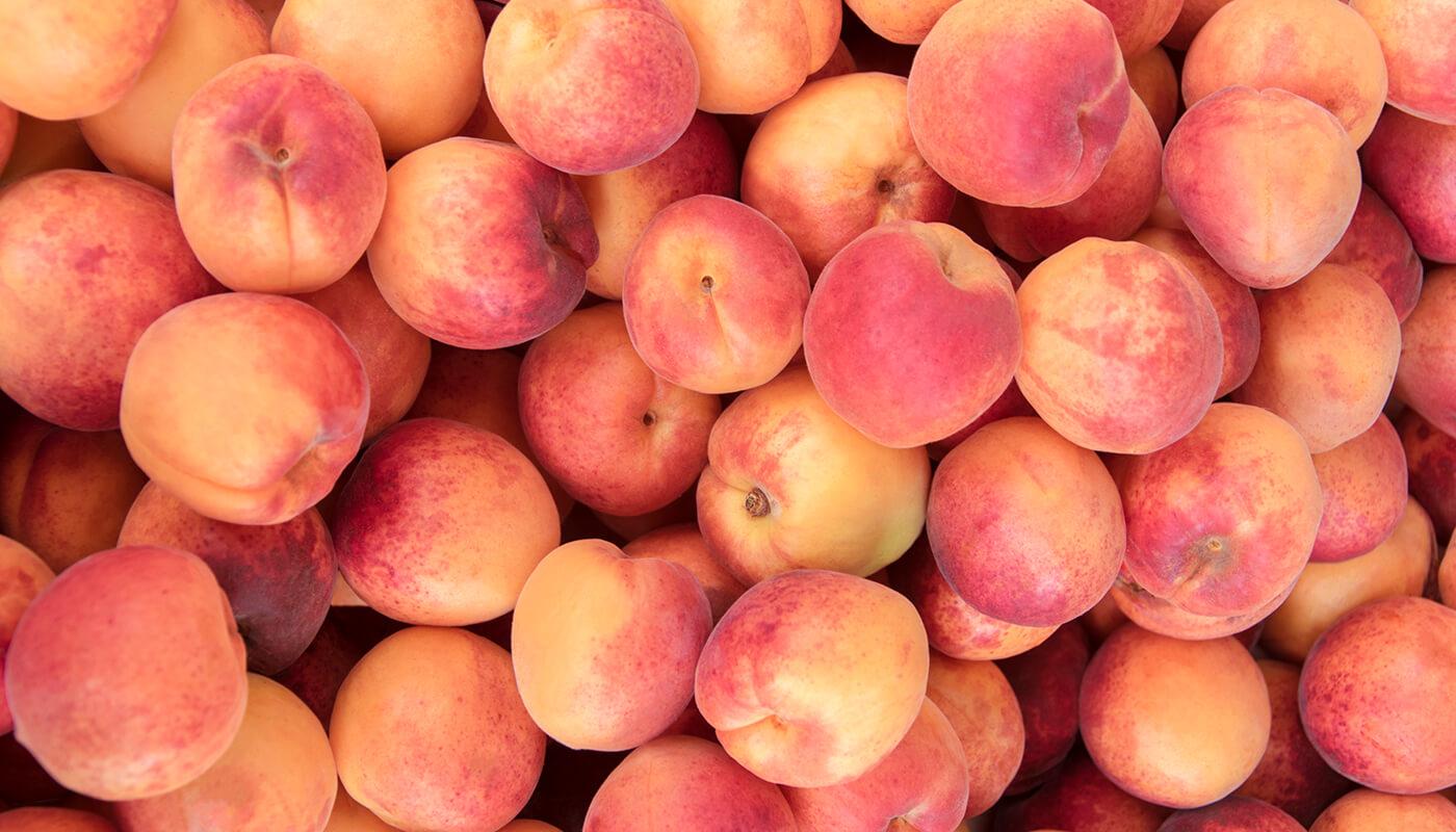 Pêssego não deixe de experimentar essa fruta de aroma e sabor inconfundível.